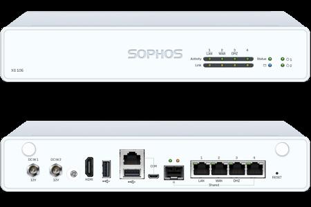 Sophos XG 106   EnterpriseAV com
