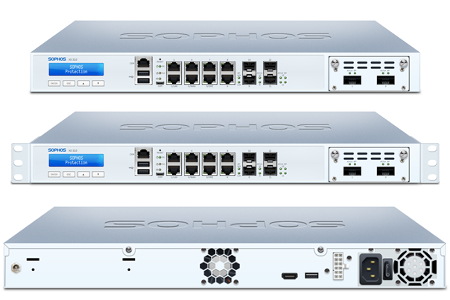Sophos XG 310 Front and Back View