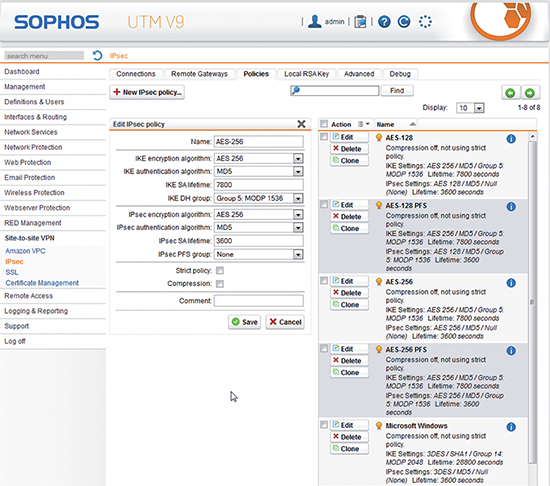 Sophos IPsec Client | EnterpriseAV com